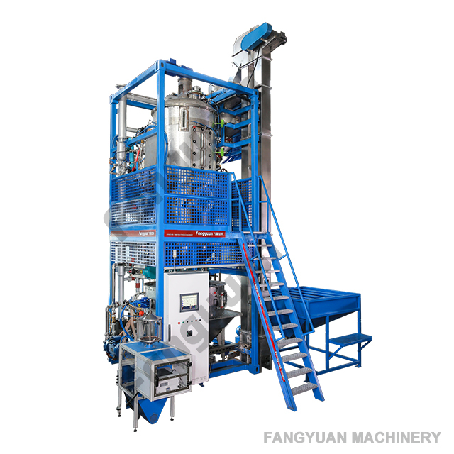 EPS expandable polystyrene pre expander foaming machine with vacuum