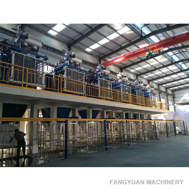 Fangyuan automatic vacuum expandable polystyrene eps shape moulding packing machine