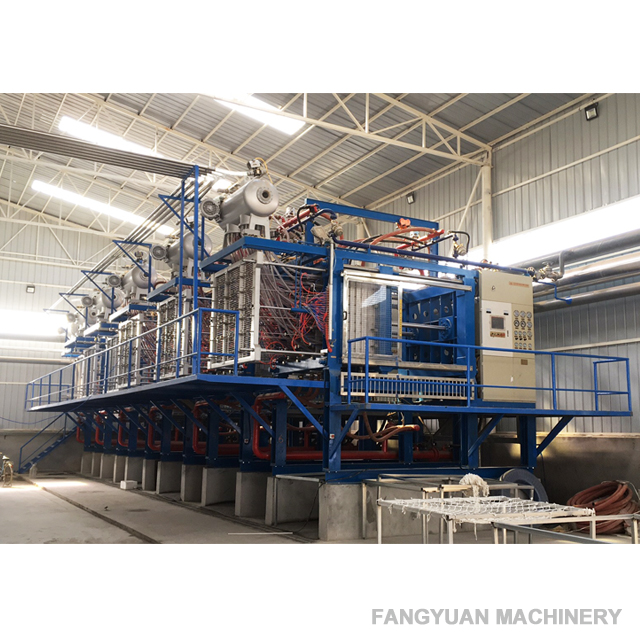 Automatic Vacuum Polystyrene Molding Machine for Decoration Ceiling Cornice