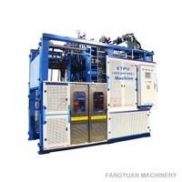 Energy-efficient ETPU moulding machine for popcorn soles