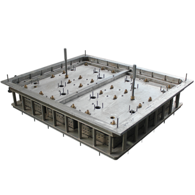 EPS形状成型机的铝合金EPS模具