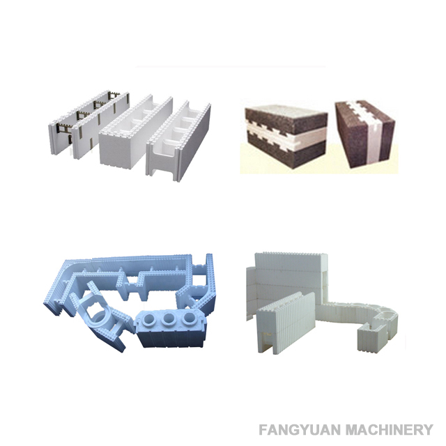 Expanded polystyrene foam machine for Insulated Concrete Form Hordi Block